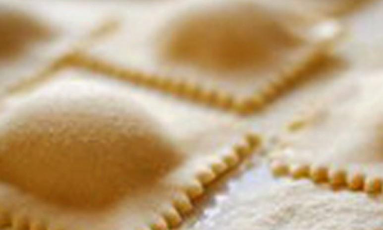 Zelfgemaakte verse ravioli Grand'Italia