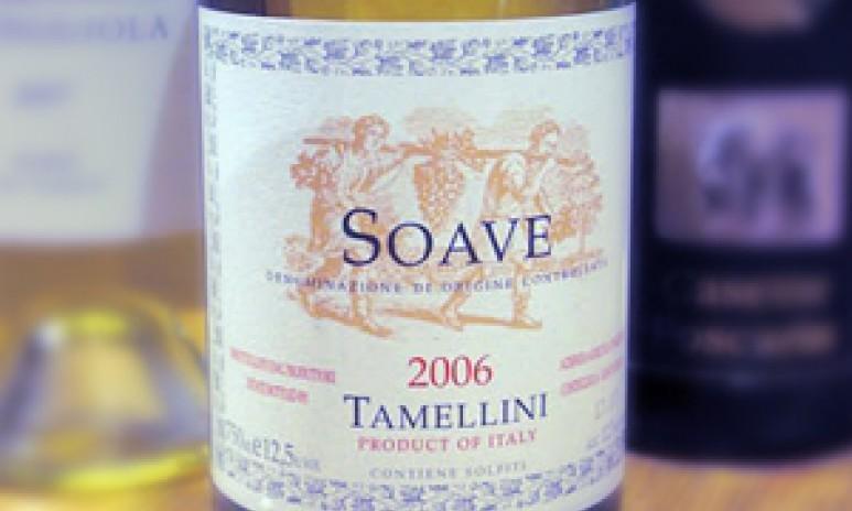 Soave wijnfles