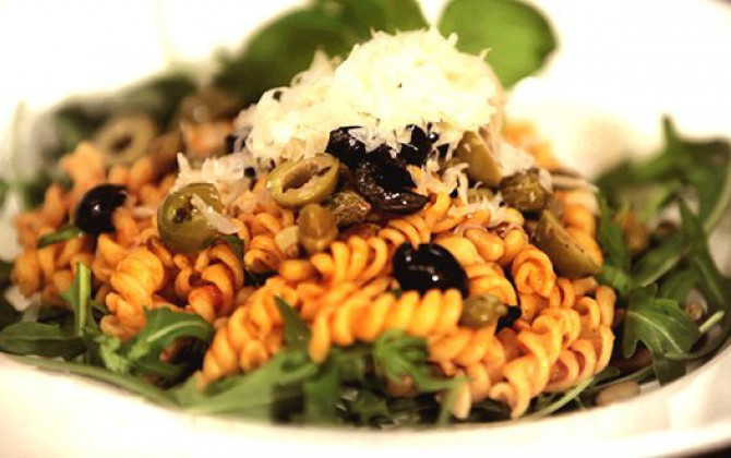 Recept Fusilli met Pesto Grand'Italia