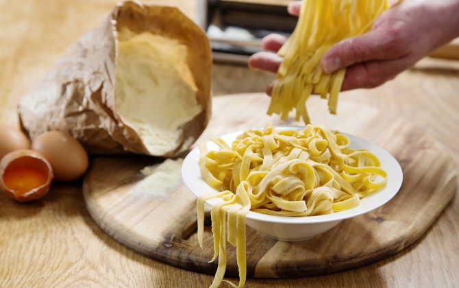Recept Tagliatelle all'uovo Grand'Italia