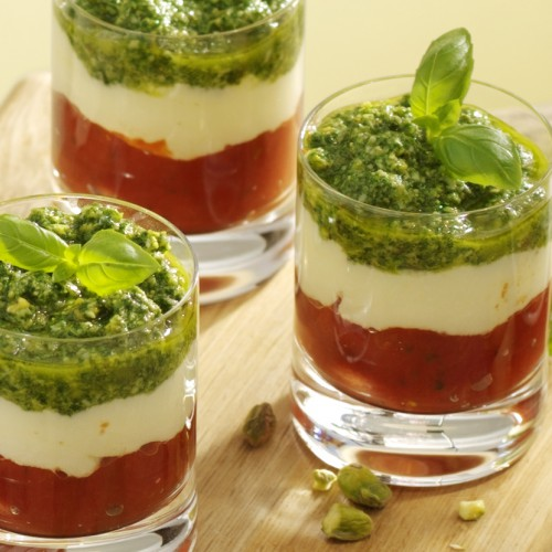 Recept Capresesalade in glas Grand'Italia