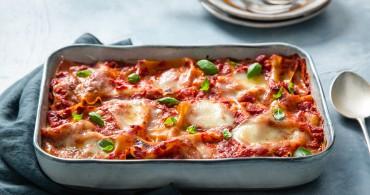 Recept Lasagne met gegrilde groenten