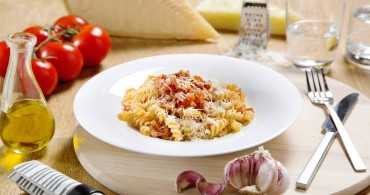 Recept Fusilli All'Amatriciana Grand'Italia
