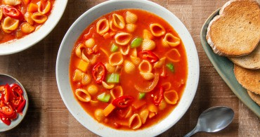 Recept Tomatensoep met Mini Conchiglie Grand'Italia